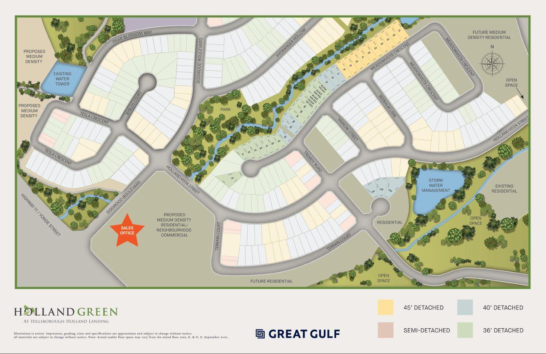 Hillsborough Siteplan