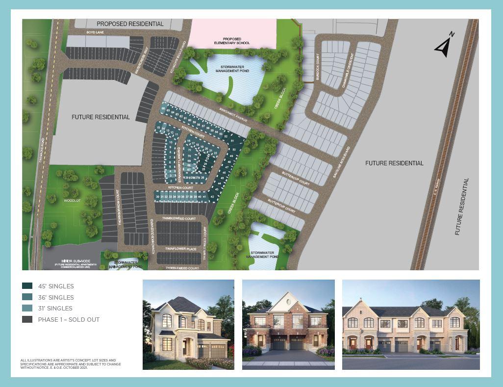Milton Village Siteplan